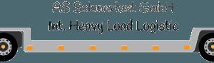 Logo AS Schwerlast GmbH Hamburg - Der Profi für Schwertransporte mit Übergewicht und Überbreite von und nach Skandinavien - Spezialtransporte Europa Genehmigung für Schwertransport nach Skandinavien Direkttransporte