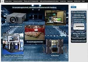 Link zur regionalen Website Beamerverleih Hamburg de